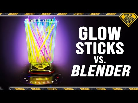 Glow Sticks vs Blender