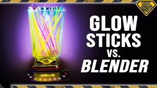 We Blended up Glow Sticks