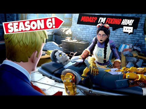 *NEW* CRAZY Season 6 INTERACTIVE *QUESTS* That Are NOW IN-GAME! (Fortnite)
