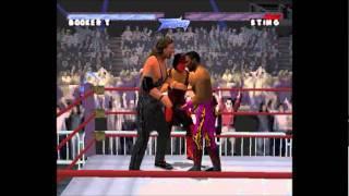 WCW Thunder Playstation PSX