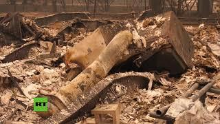 Imágenes apocalípticas de Paradise, destruido por los incendios más mortíferos de California