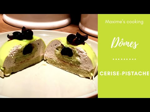 dÔmes-cerise-pistache
