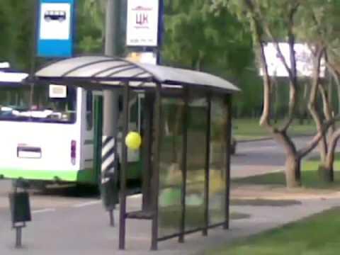 Застрял в автобусе