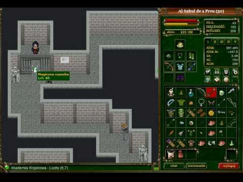 MMORPG Margonem - Quest Na 50 Lvl Nithal