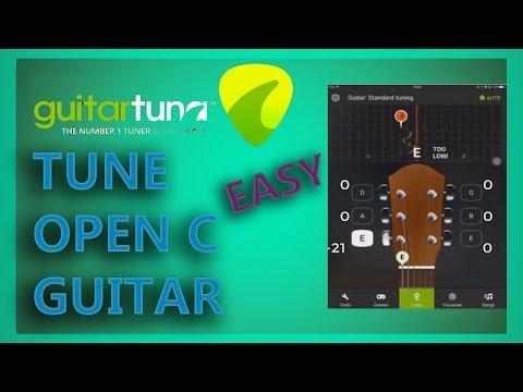 Guitar Tuna - Open C Tuning - EASY | Riovo