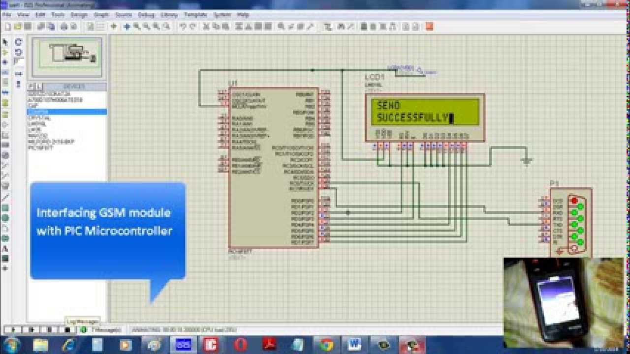 Interfacing GSM module with PIC Microcontroller - NBCAFE