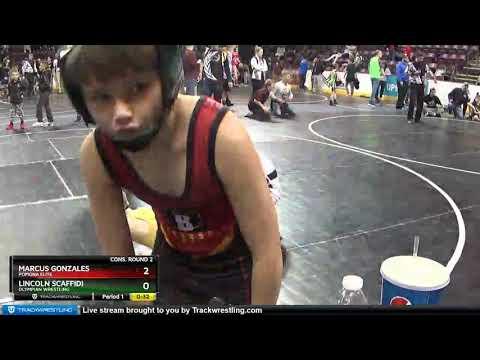 12U 67 Marcus Gonzales Pomona Elite Vs Lincoln Scaffidi Olympian Wrestling