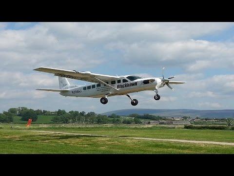 Bush flying in Lancashire! - Short field/STOL Action-N208AJ-Cessna 208B Grand Caravan