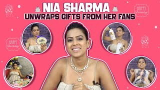 Nia Sharma Unwraps Gifts From Her Fans | Special Birthday Gifts