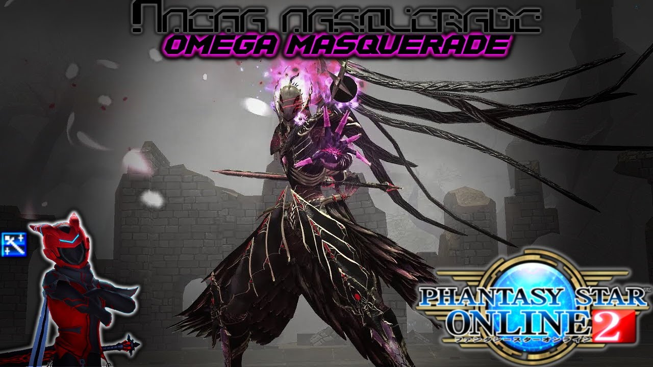 Phantasy Star Online 2: Gameplay - My Struggle against Omega Masquerade
