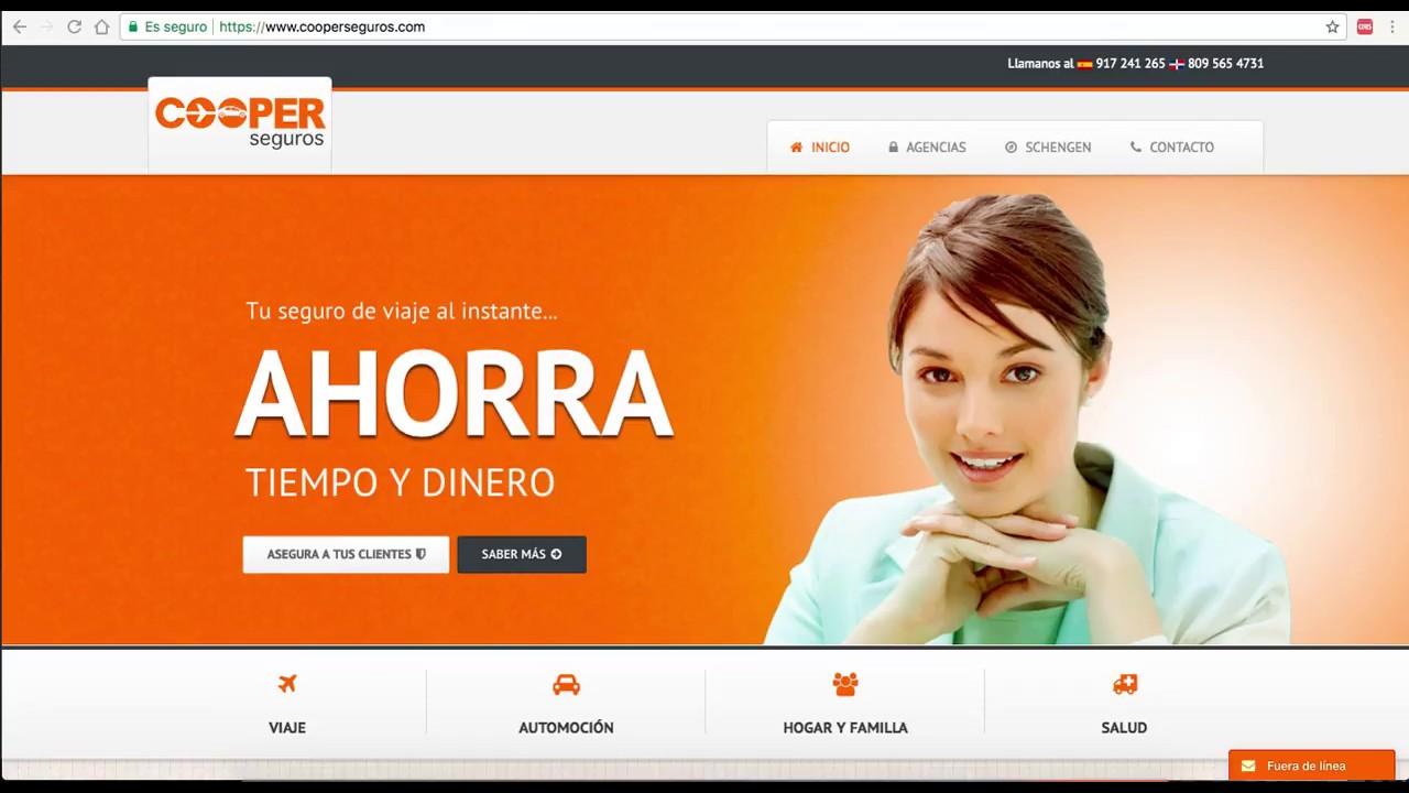 Diseño web en Joomla para compañia de seguros de viaje - YouTube