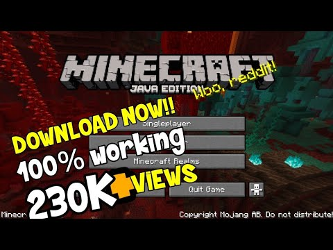 How To Download JAVA EDITION On MCPE.