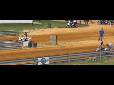 Custom Eton Atv vs Suzuki LTZ - Drag Race - YouTube