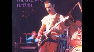 Frank Zappa -- 11/17/81 -- The Ritz, NYC