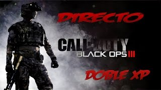 BLACK OPS 3 EN DIRECTO-DOBLE XP(XBOX ONE)