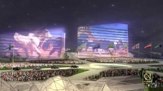 """Астана Экспо 2017 """"Энергия будущего"""" церемония открытия. Автор Нана Эрнандес-Геташвили"""