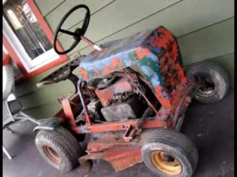 Lawn Mower Racing >> tiny riding mower, mini mower - YouTube