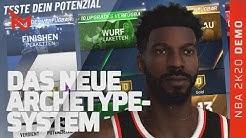 Der neue MyPlayer: Potenzial, Archetypes, Badges/Plaketten - NBA 2K20 My Career Deutsch