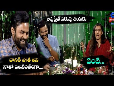 sai-tej-funny-comments-on-vaishnav-tej-|-uppena-exclusive-interview-|-niharika-|-celebrity-media