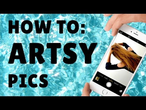 HOW TO: ARTSY TUMBLR/INSTAGRAM PHOTOS (IPHONE TIPS)