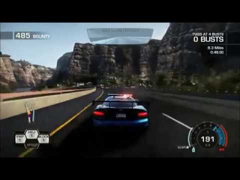 Need for Speed Hot Pursuit gameplay (Cops)