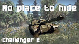 No place to hide - Challenger 2 - War Thunder Gameplay 24K RP Ace Match