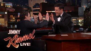 Jimmy Kimmel on His First John Travolta Interview