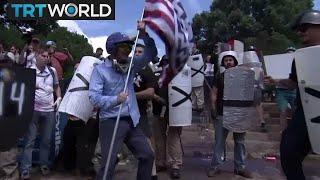 White Supremacist Rally: Trump condems neo-Nazis and KKK