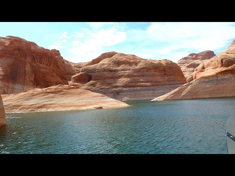 Daytrip Rainbow Bridge Boatride at Wahweap Marina Lake Powell Page Arizona Utah USA Travel Tip Video