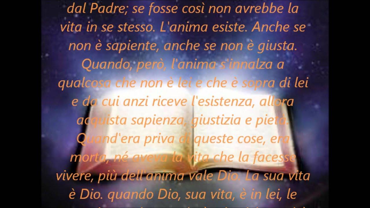 La Parola di Dio - Sant'Agostino - YouTube