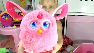 Алисе подарили НОВОГО Фёрби Коннект НОВИНКА!!! Новая интерактивная игрушка для детей