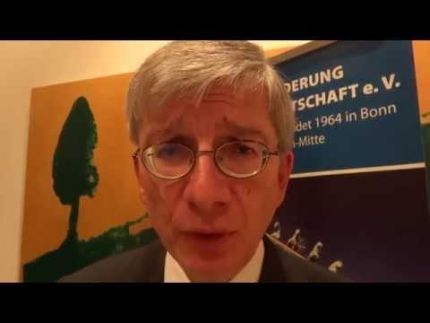 Президент Всемирного конгресса украинцев Евгений Чолий в Берлине