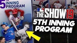 Fifth Inning Program Revealed! MLB The Show 19 Diamond Dynasty