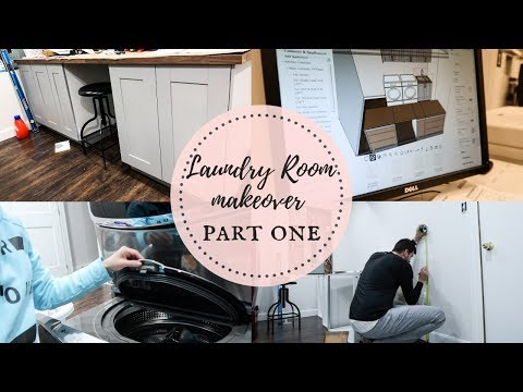 LAUNDRY ROOM MAKEOVER | PART 1| Nesting Story