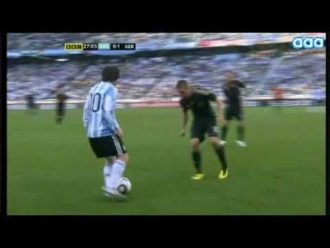 Messi - World Cup 2010 - All the best moves & skills