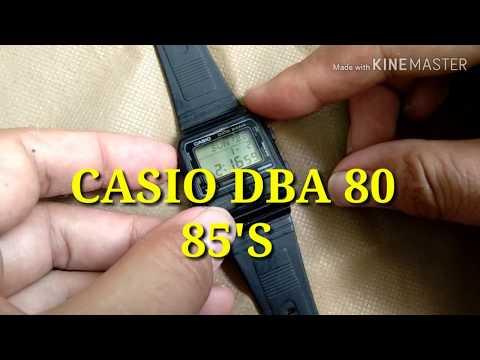 CASIO PHONE DIALER DBA 80