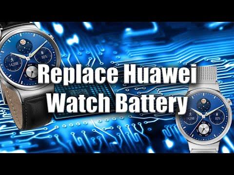 How To Fix | Repair | Huawei Watch | Battery Replacement | Tutorial | ZanyGeek