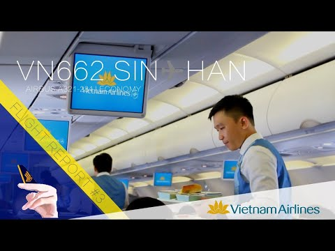 Vietnam Airlines Flight Report: VN662 Singapore ✈ Hanoi