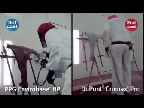 DuPont Cromax Pro vs PPG