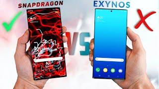 Samsung Galaxy Note 20 Ultra - Snapdragon vs Exynos - SPEED TEST! *SHOCKING*