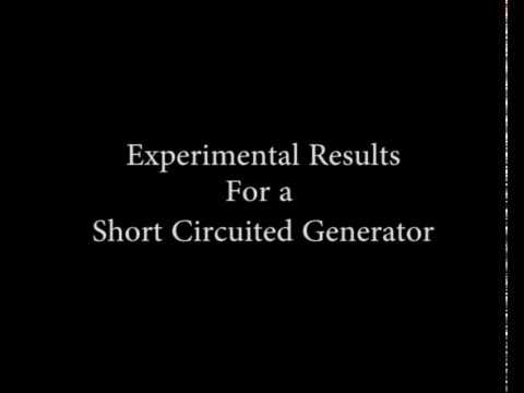 Experimental results for a Short Circuited  Synchonous Generator thumbnail