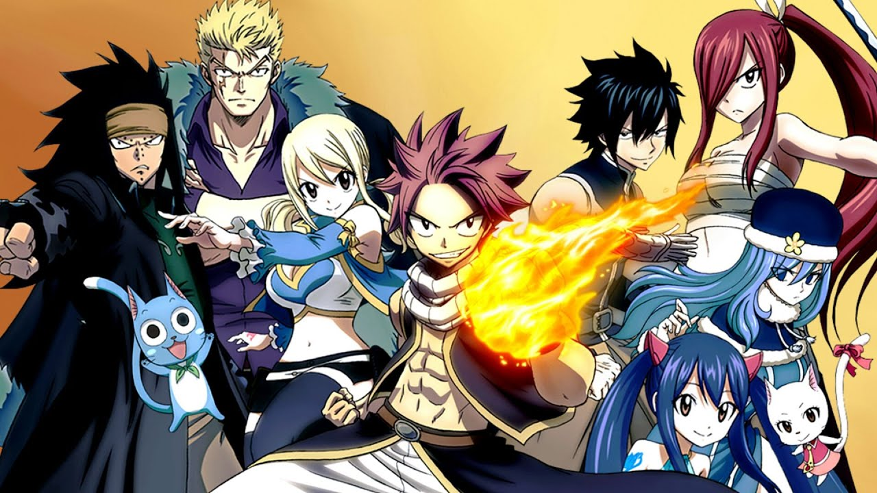 Download FAIRY TAIL : All Openings (1-26)