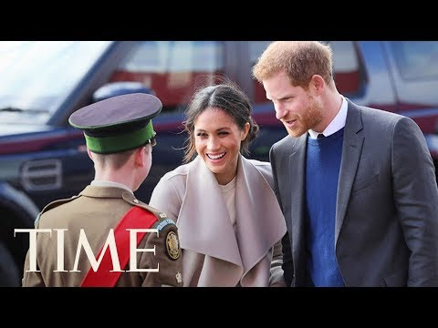 Prince Harry And Meghan Markle Make A Surprise Visit To Northern Scotland For Charity Event | TIME