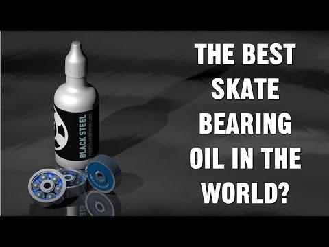 Black Steel - Probably The Best Skateboard Bearing Oil In The World