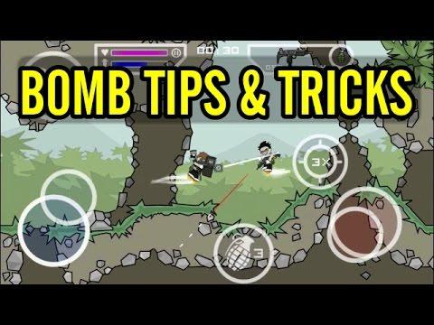 Mini Militia : Bomb Tips And Tricks | Attack Strategies
