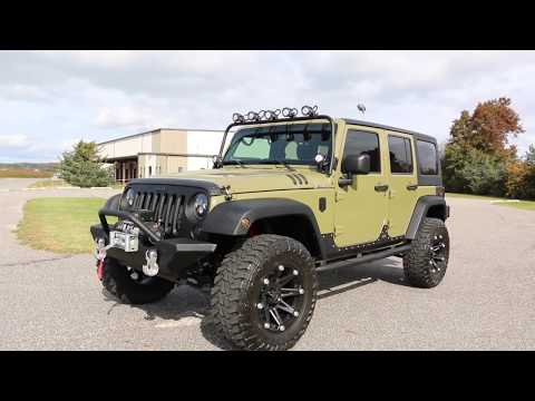 2013 Jeep Wrangler 6.4L HEMI Custom by COP~OVER THE TOP & NO EXPENCE SPAIRED!