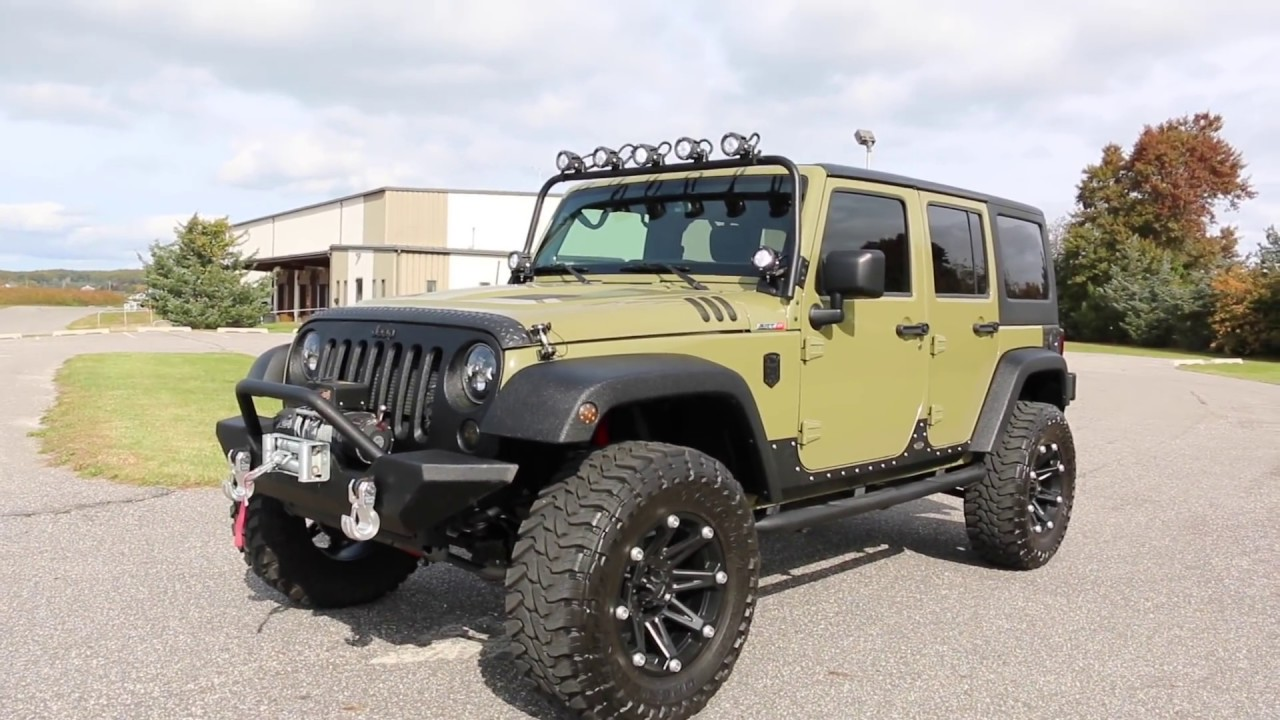$24,995~2013 Jeep Wrangler 6.4L HEMI Custom By COP~OVER THE TOP U0026 NO  EXPENCE SPAIRED!