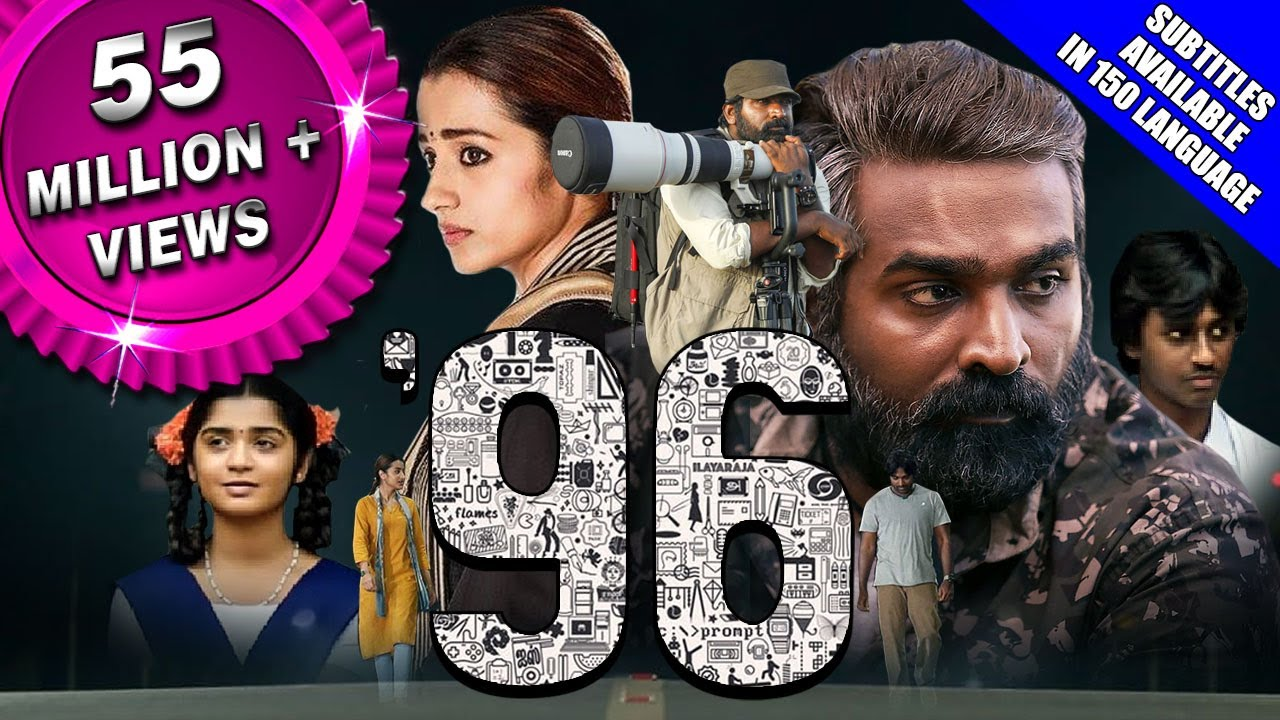 Download 96 (2019) New Released Full Hindi Dubbed Movie | Vijay Sethupathi, Trisha Krishnan, Devadarshini