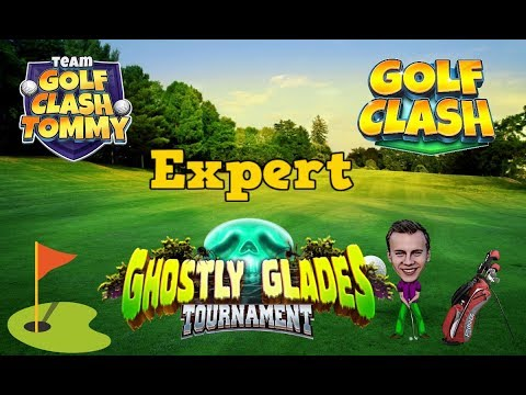 Golf Clash tips, Playthrough, Hole 1-9 - EXPERT - TOURNAMENT WIND! Ghostly Glades Tournament!