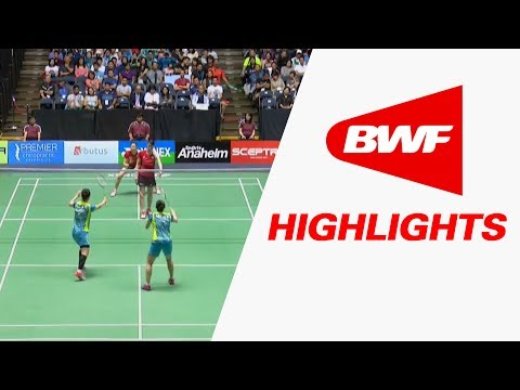 Yonex US Open 2017   Badminton F – Highlights